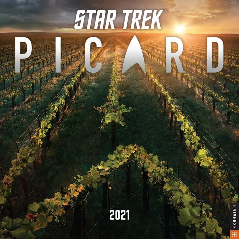 2021 Star Trek Picard Wall Calendar