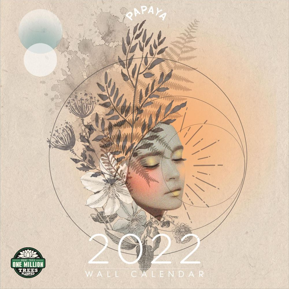 Papaya Katkin 2022 Wall Calendar