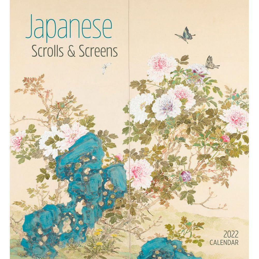 Japanese Scrolls and Screens 2022 Wall Calendar