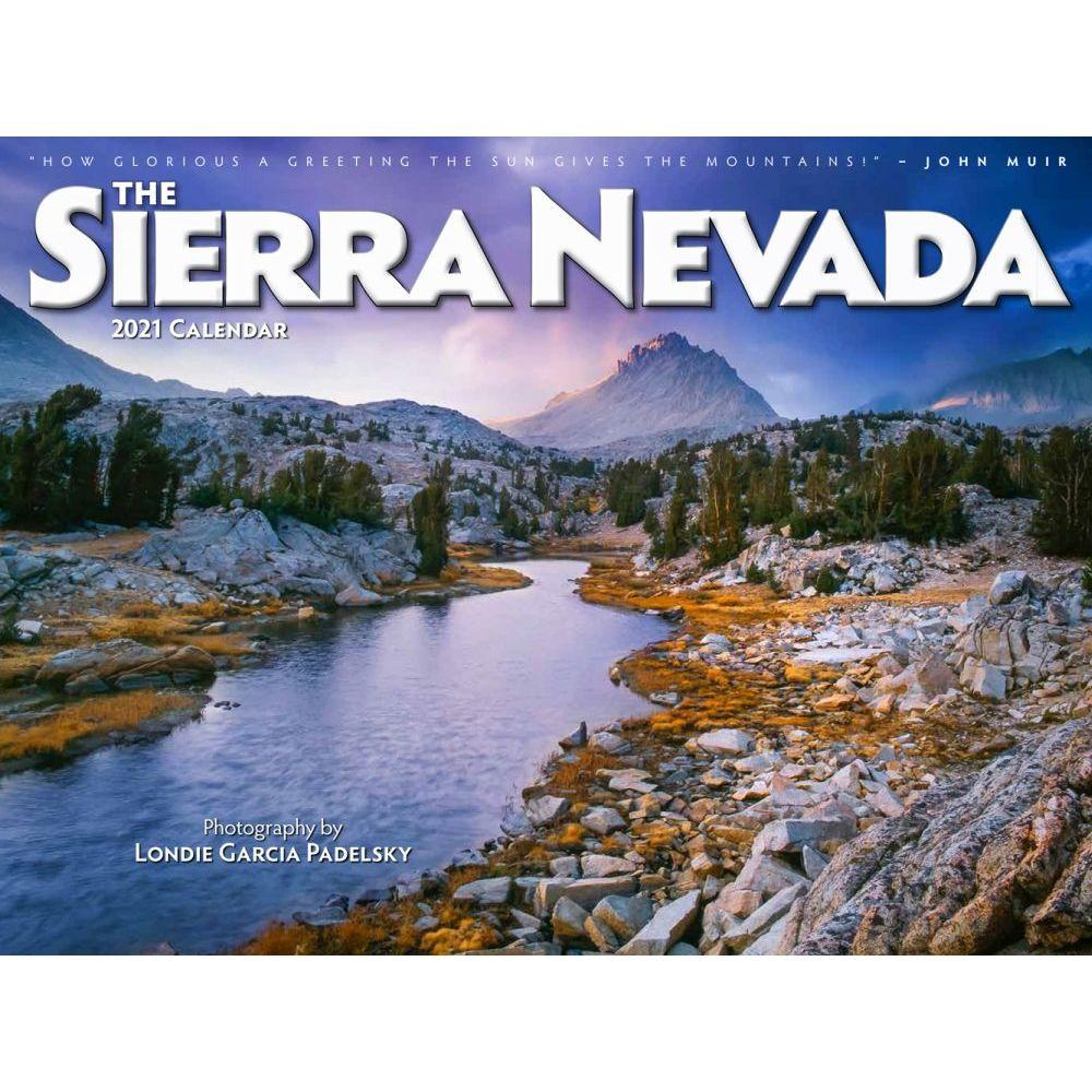 2021 Sierra Nevadas Wall Calendar
