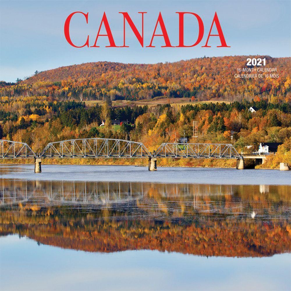 2021 Canada Wall Calendar