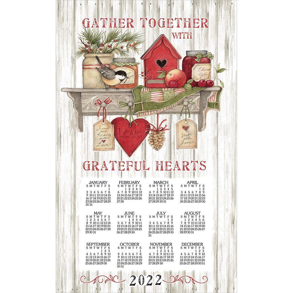 Kitchen Sentiments 2022 Kitchen Towel Calendar