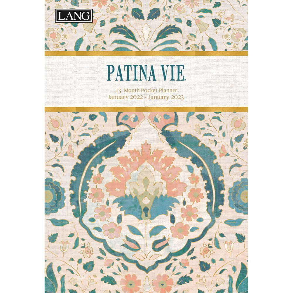 Patina Vie Monthly 2022 Pocket Planner