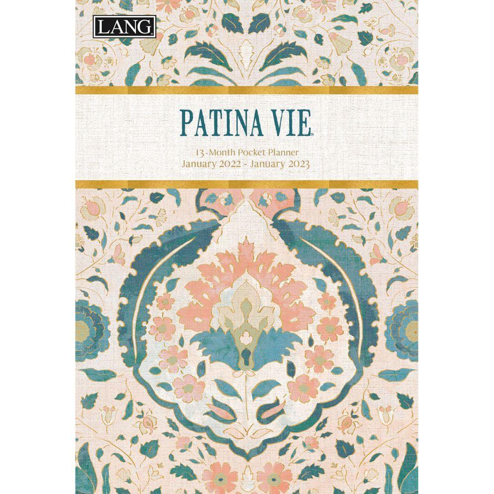Patina Vie Monthly 2022 Pocket Planner
