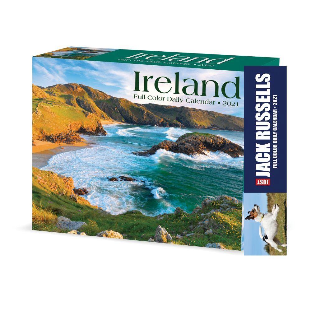 2021 Ireland Desk Calendar