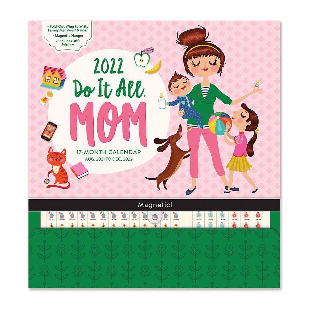 Mom Do It All 2022 Pocket Wall Calendar