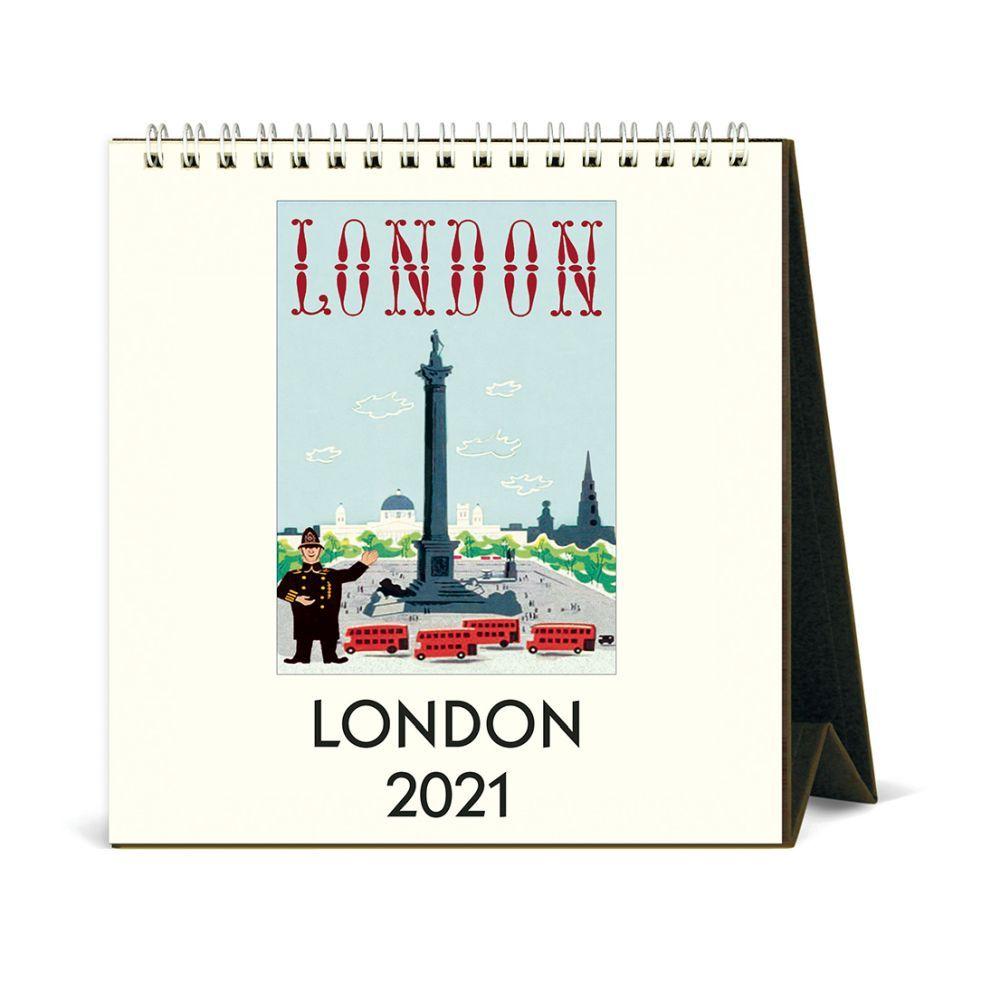 2021 London Art Easel Calendar