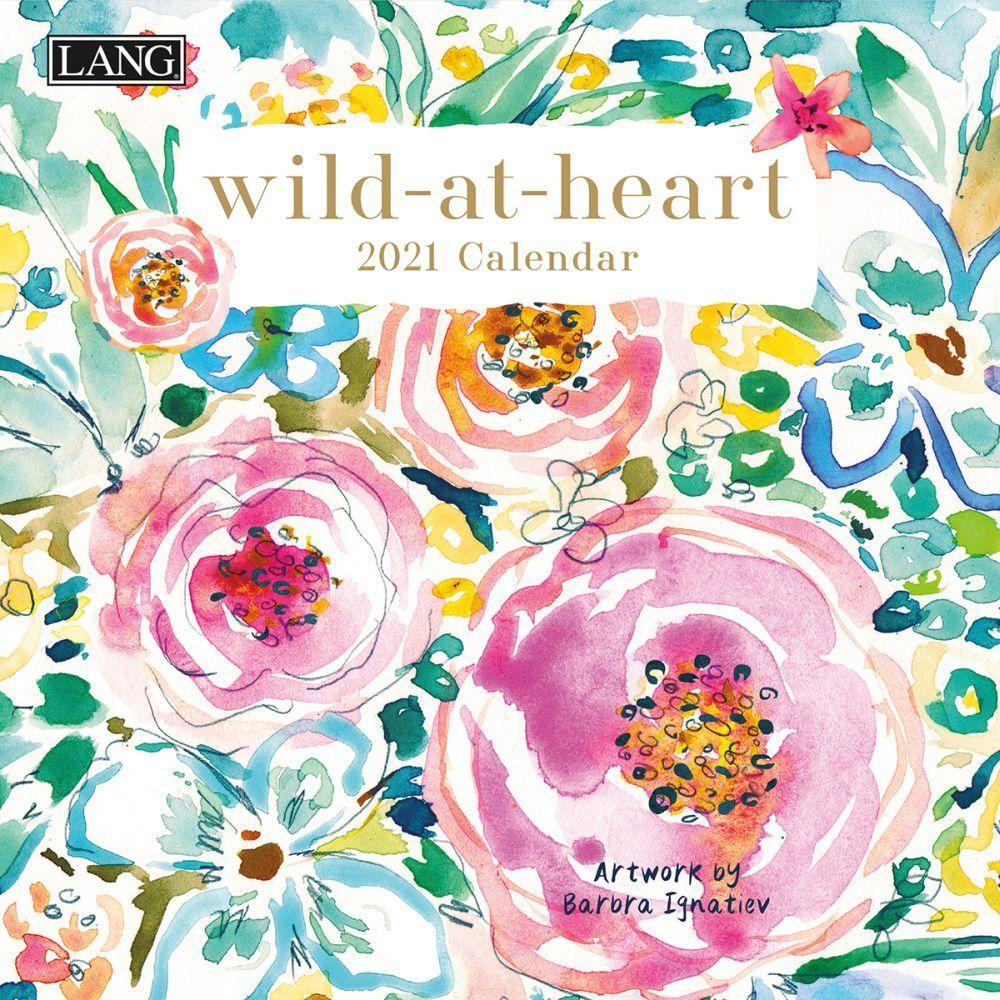 2021 Wild at Heart Mini Wall Calendar by Barbra Ignatiev
