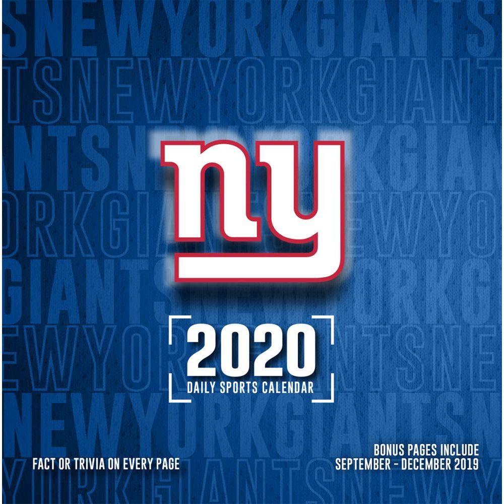 New York Giants 2021 Desk Calendar