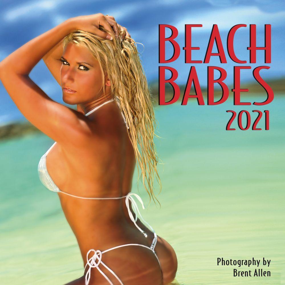 Beach Babes 2021 Wall Calendar
