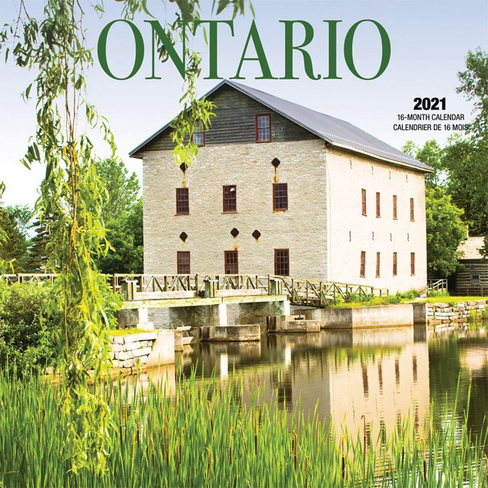 2021 Ontario Wall Calendar