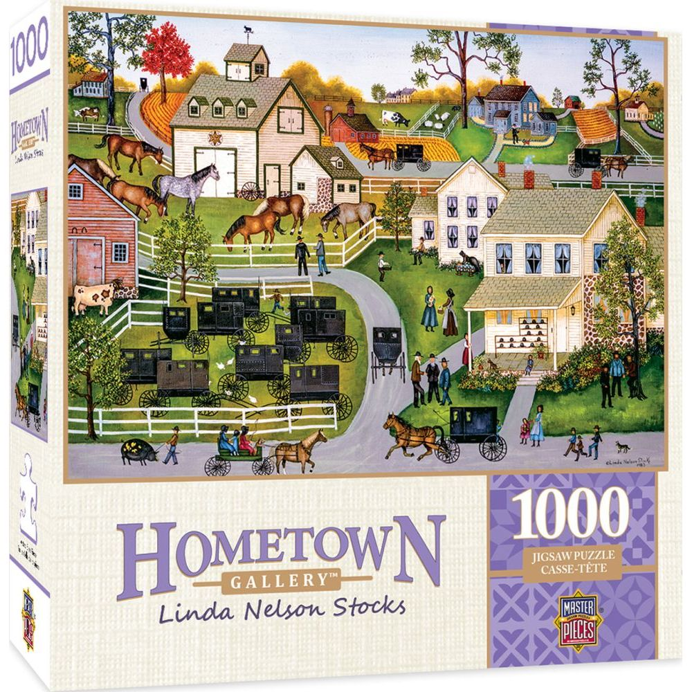 Best Hometown Sunday Meeting 1000pc Puzzle You Can Buy