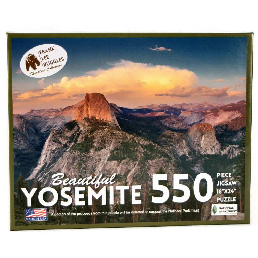 Best Yosemite Ruggles 550 pc Puzzle You Can Buy