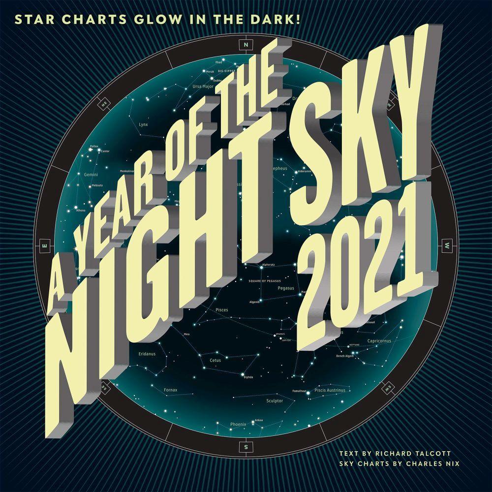 2021 Year in the Night Sky Wall Calendar