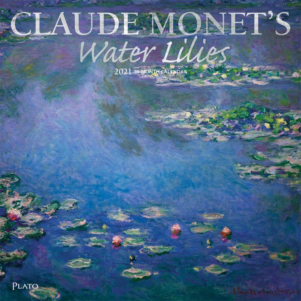 Claude Monet's Water Lilies 2021 Wall Calendar
