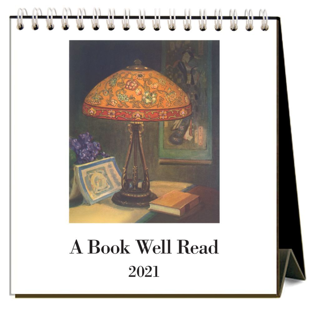 2021 Book Well Read Easel Calendar