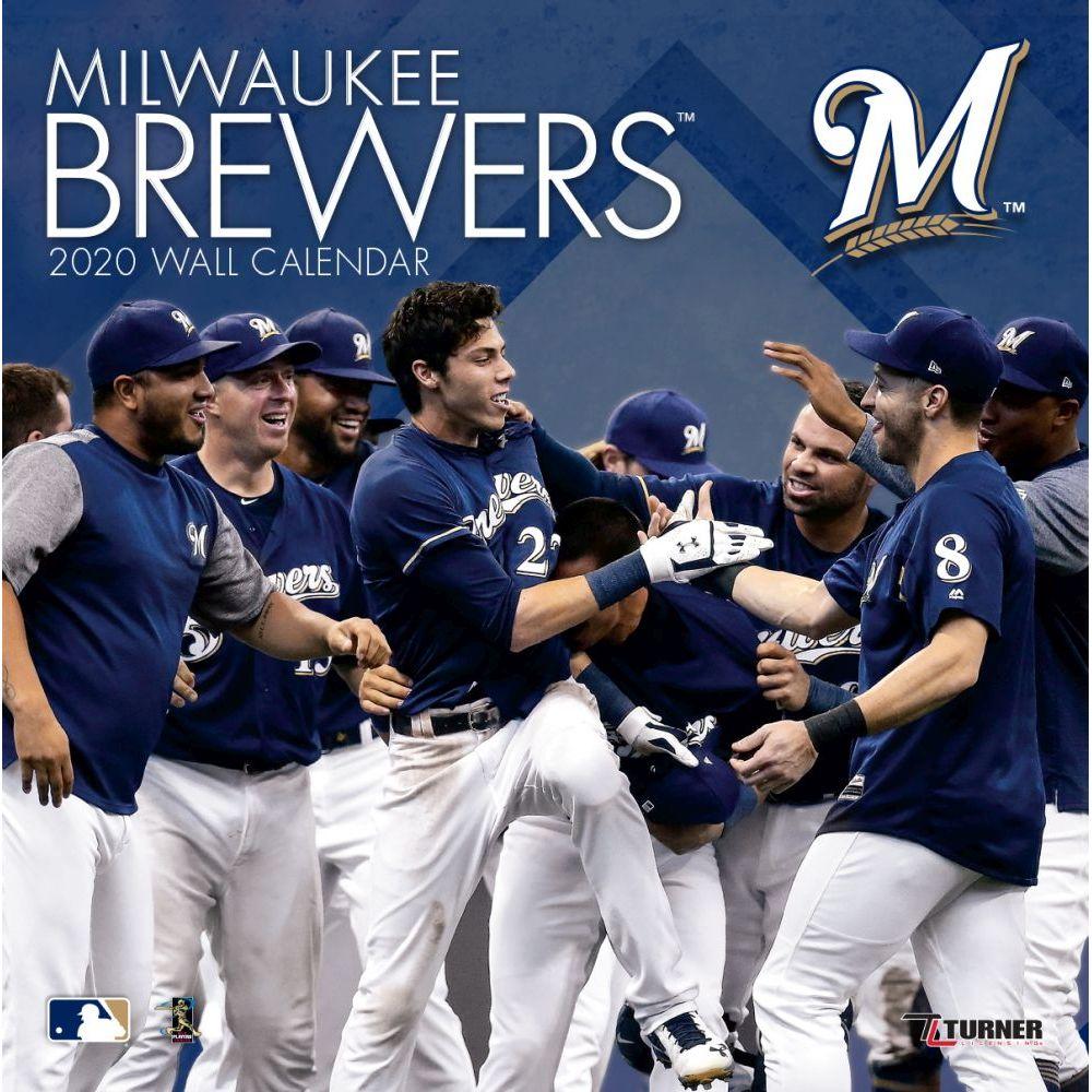 Milwaukee Brewers 2021 Wall Calendar