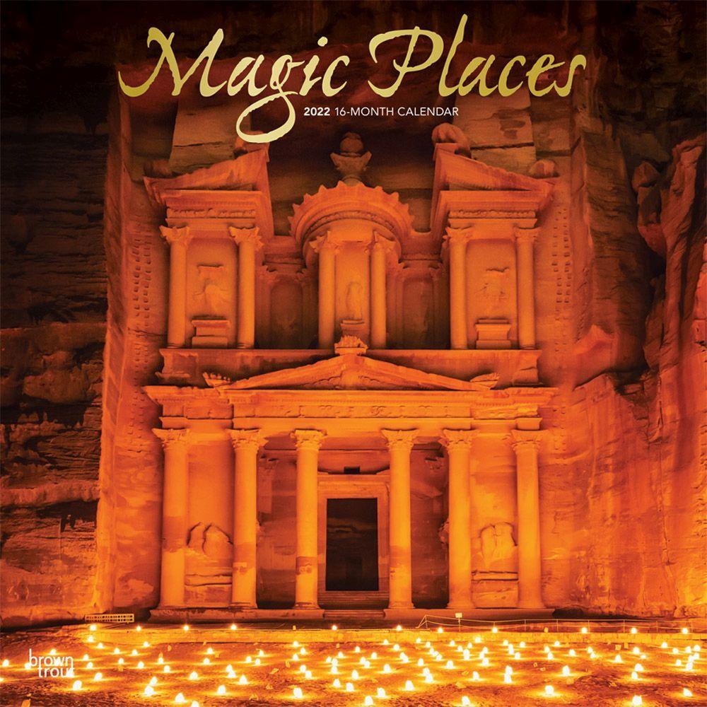 Magic Places 2022 Wall Calendar