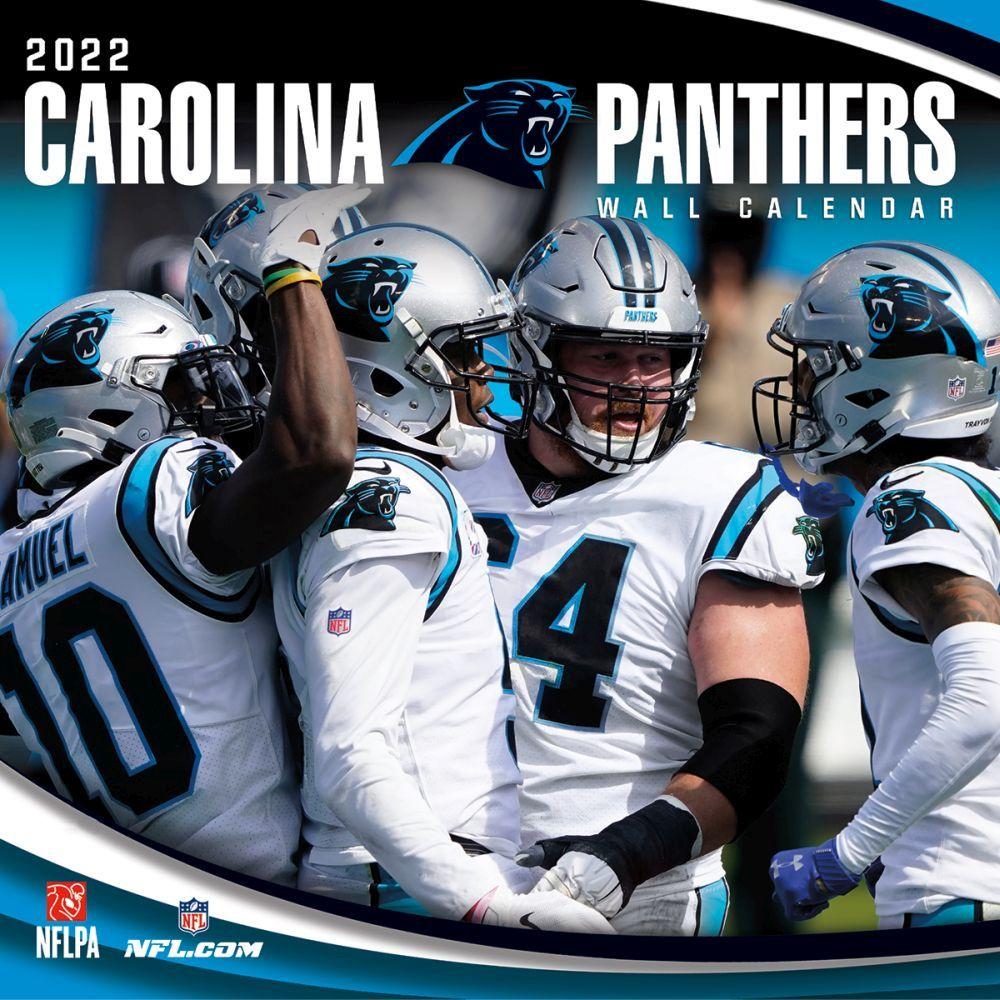 Carolina Panthers 2022 Wall Calendar