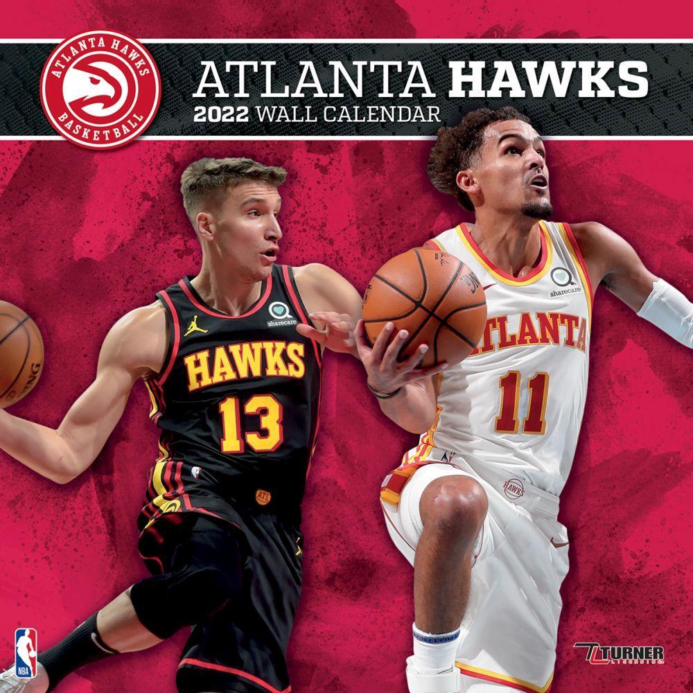Atlanta Hawks 2022 Wall Calendar