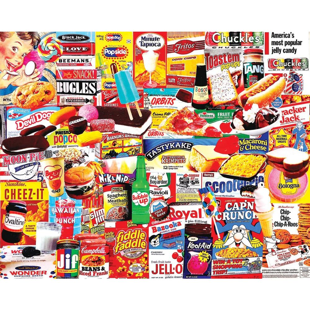 Best Things I Ate As a Kid 1000 Piece Puzzle You Can Buy