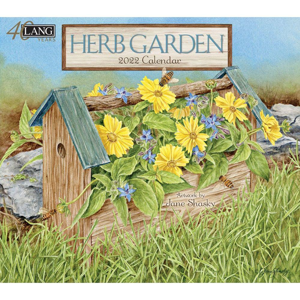 Herb Garden 2022 Wall Calendar
