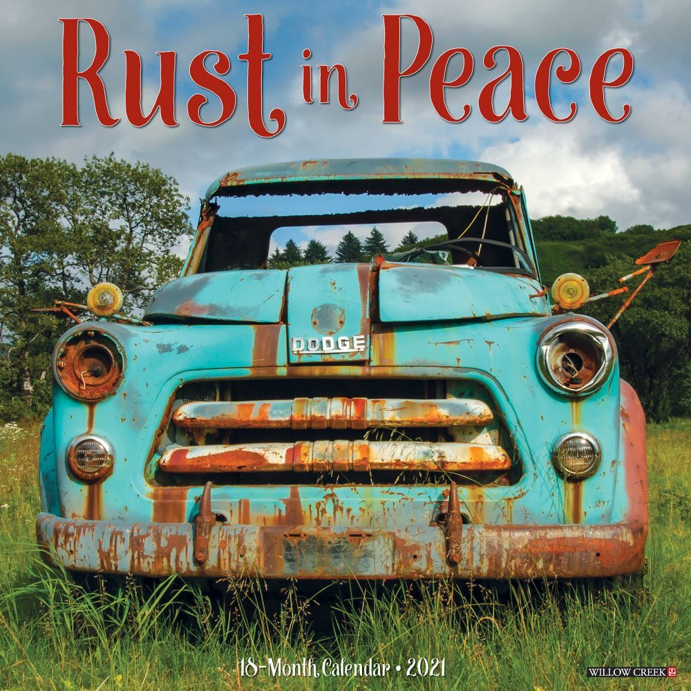 Calendar | Peace | Rust | Wall