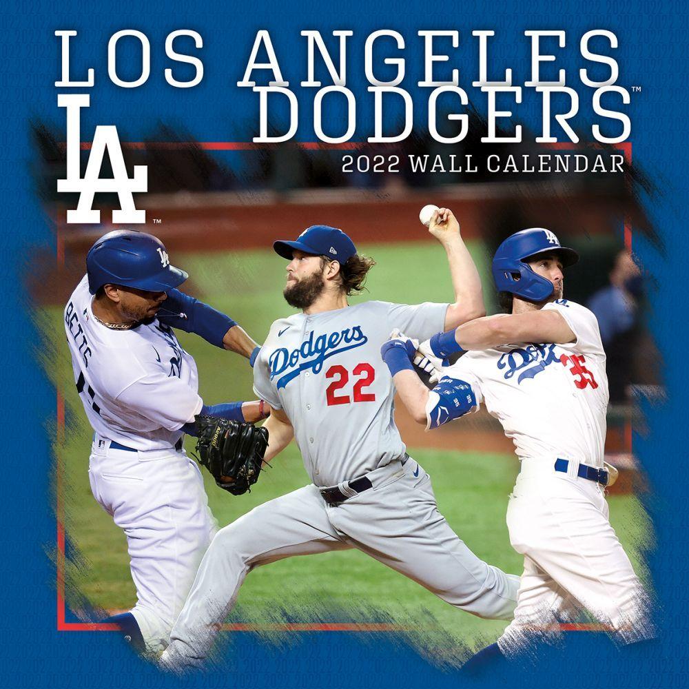 Los Angeles Dodgers 2022 Wall Calendar