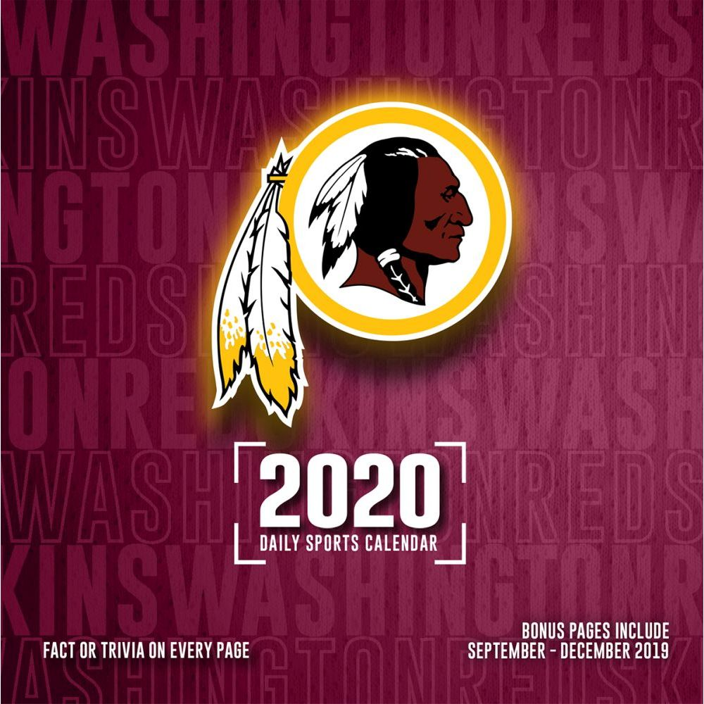 Washington Redskins 2021 Desk Calendar