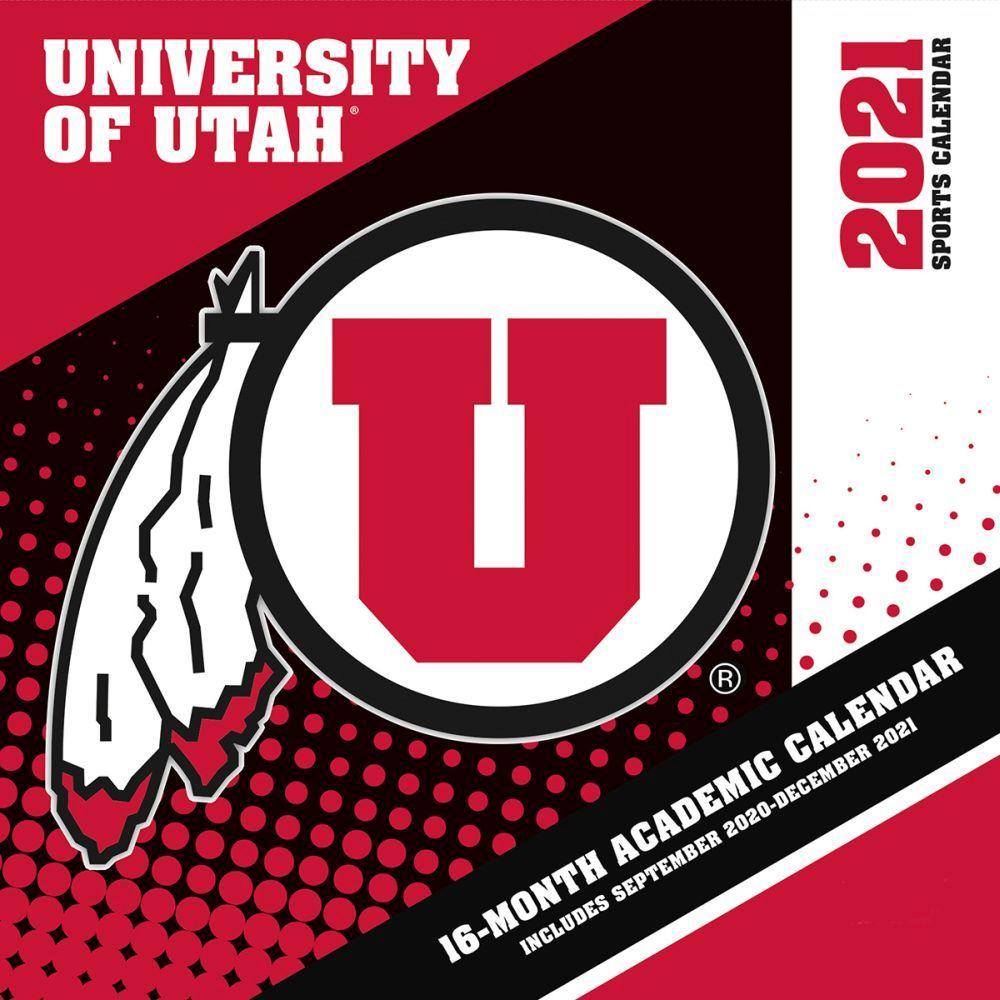 2021 Utah Utes Wall Calendar