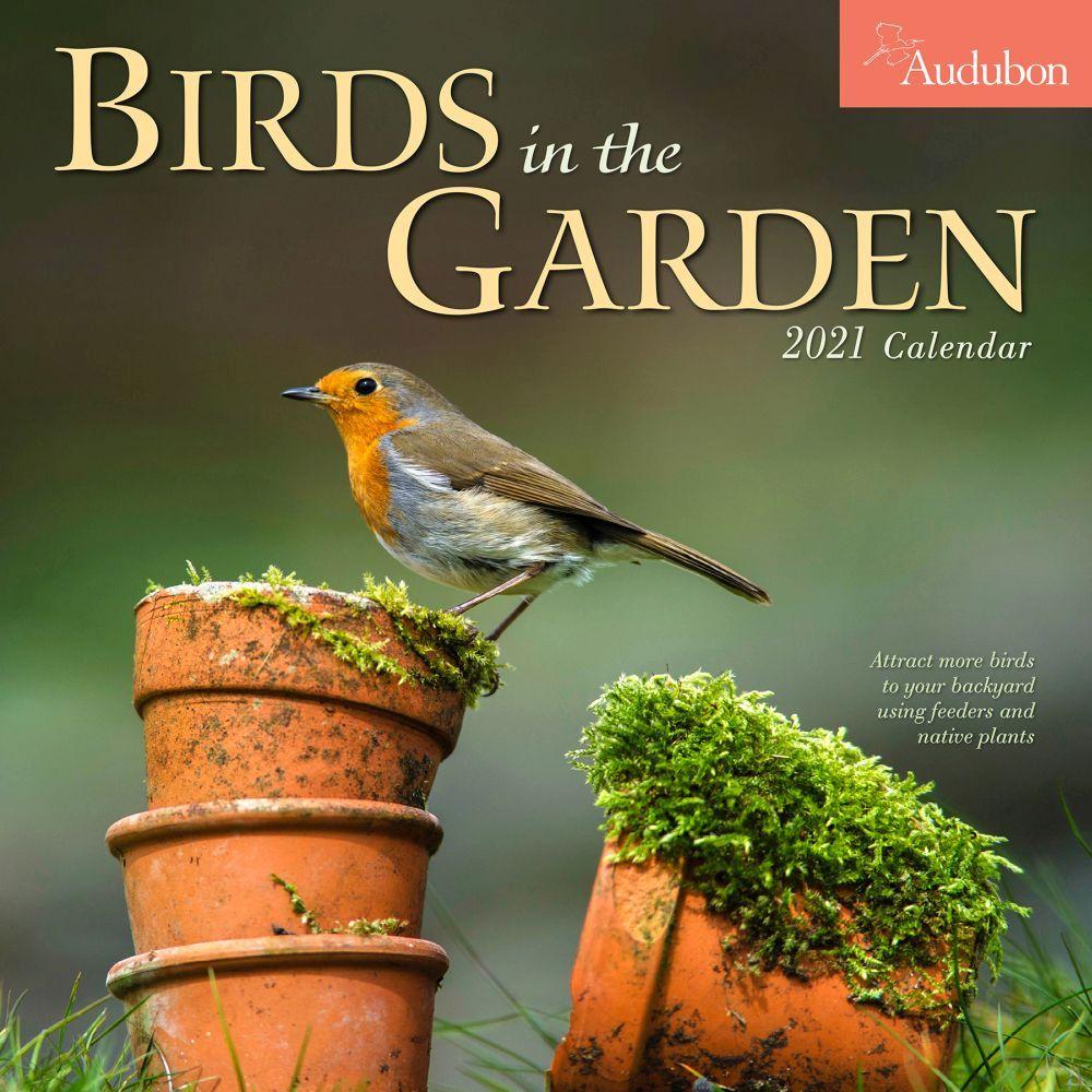 2021 Audubon Garden Birds Wall Calendar