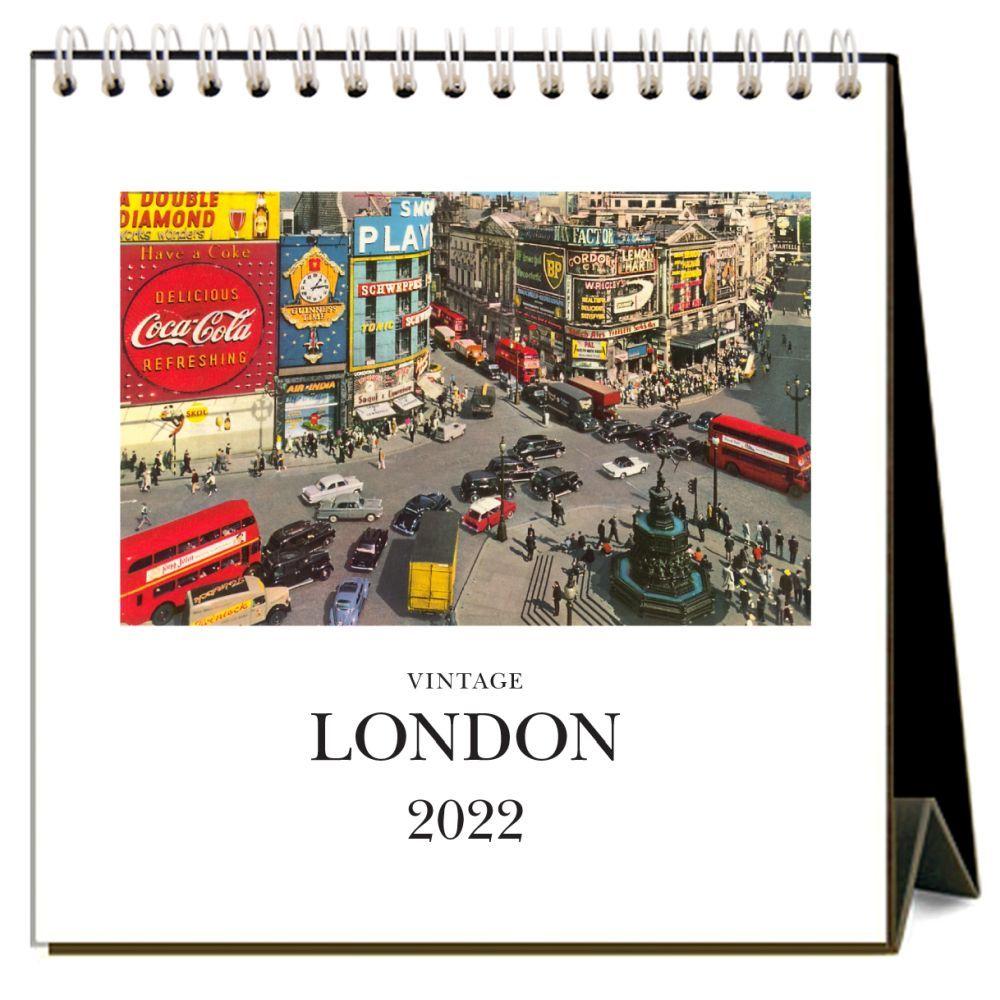 London 2022 Desk Calendar