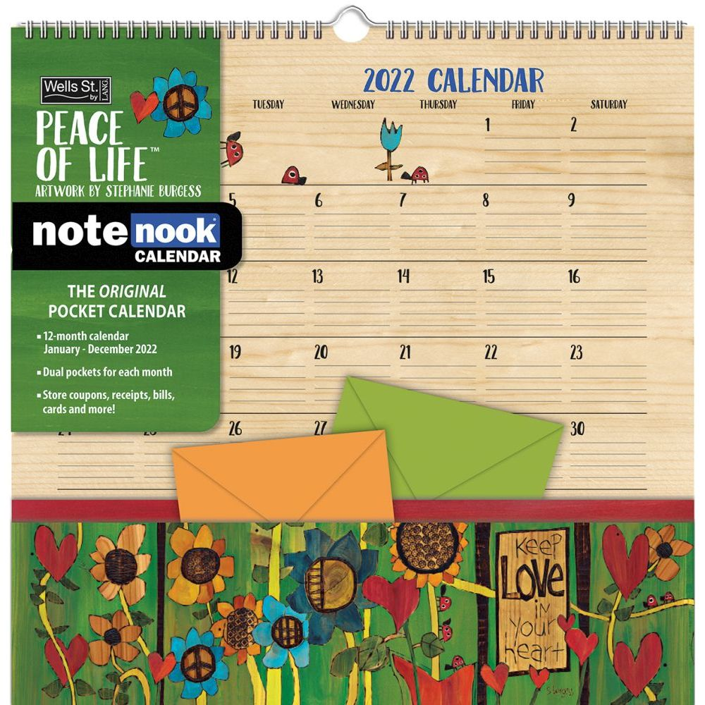 Peace Of Life 2022 Note Nook