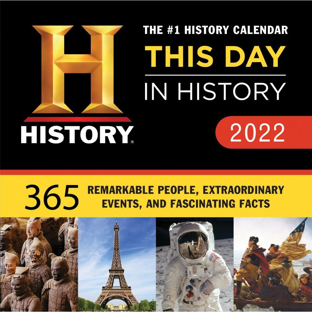 This Day in History 2022 Desk Calendar