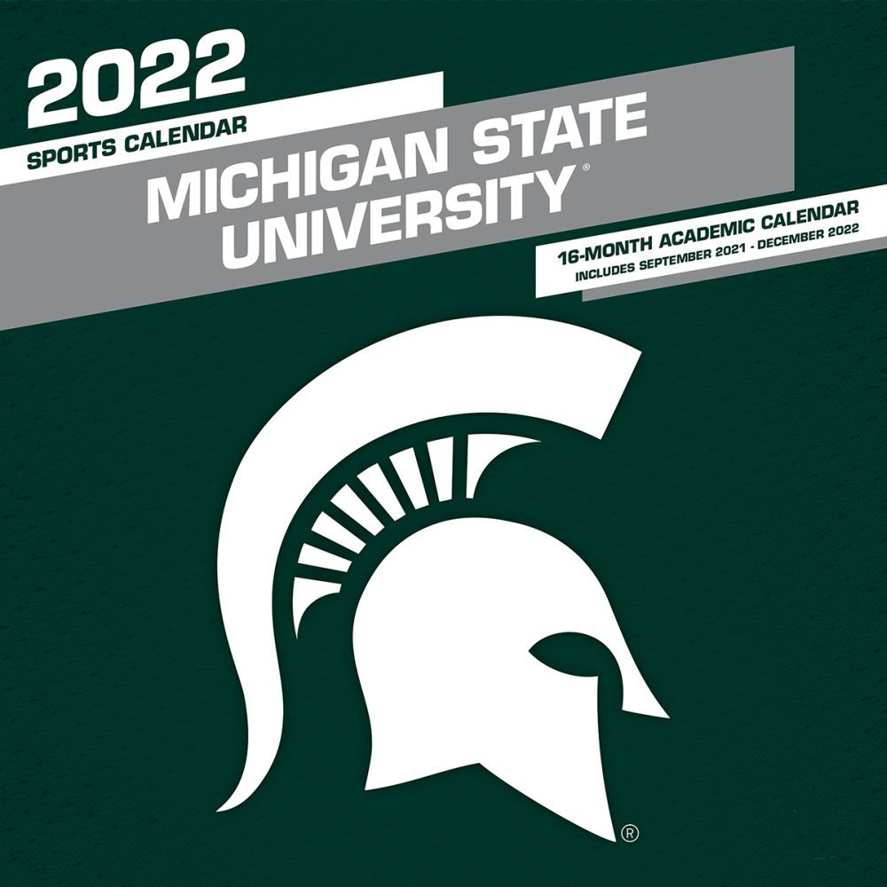 Michigan State University Spartans 2022 Wall Calendar