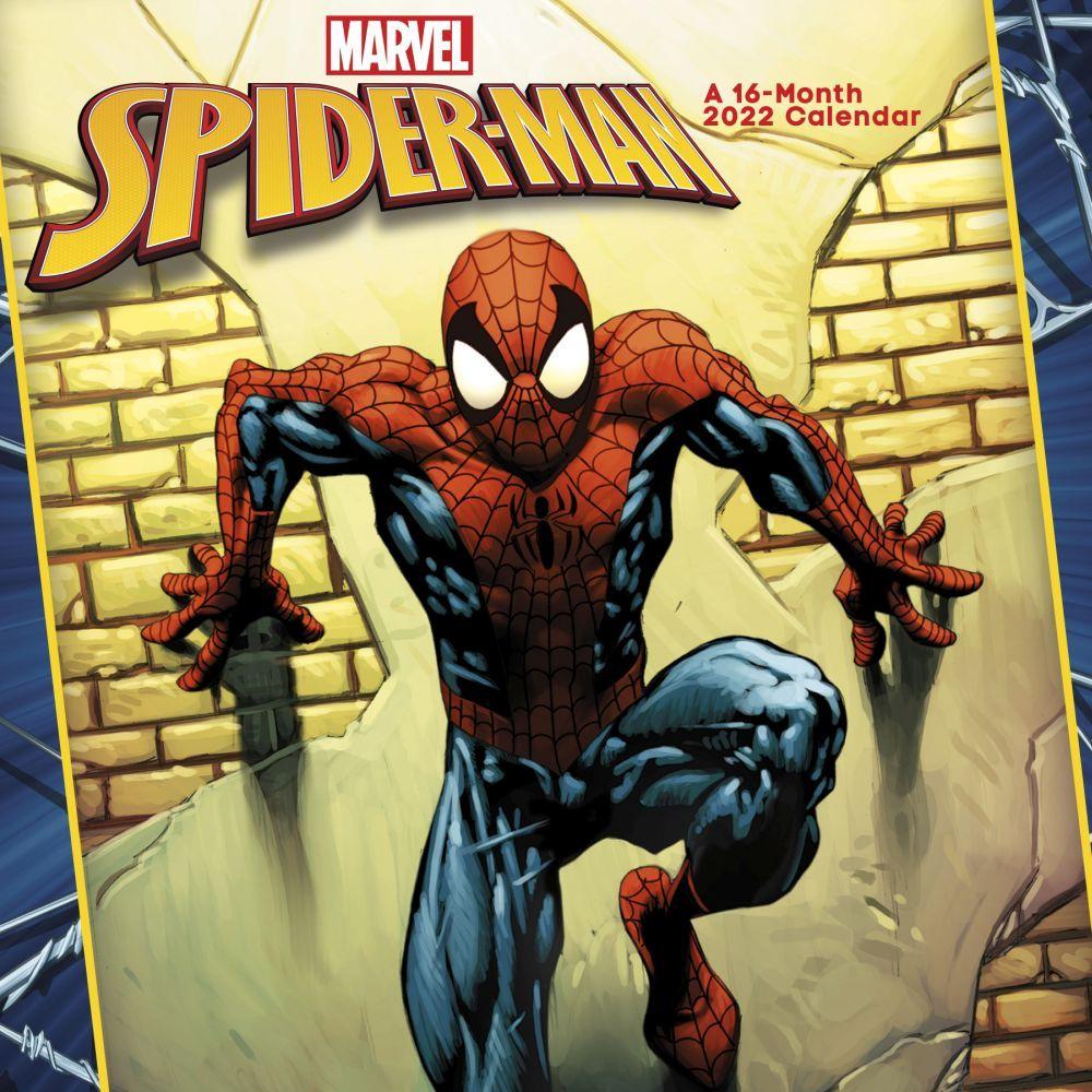 Spider-Man 2022 Mini Wall Calendar
