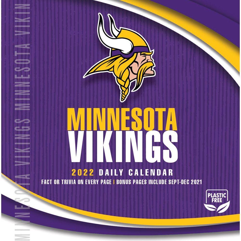 Minnesota Vikings 2022 Desk Calendar