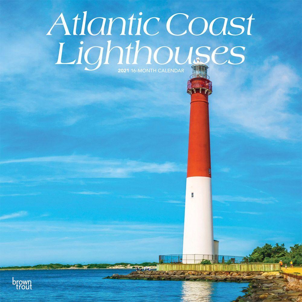 2021 Lighthouses Atlantic Coast Wall Calendar
