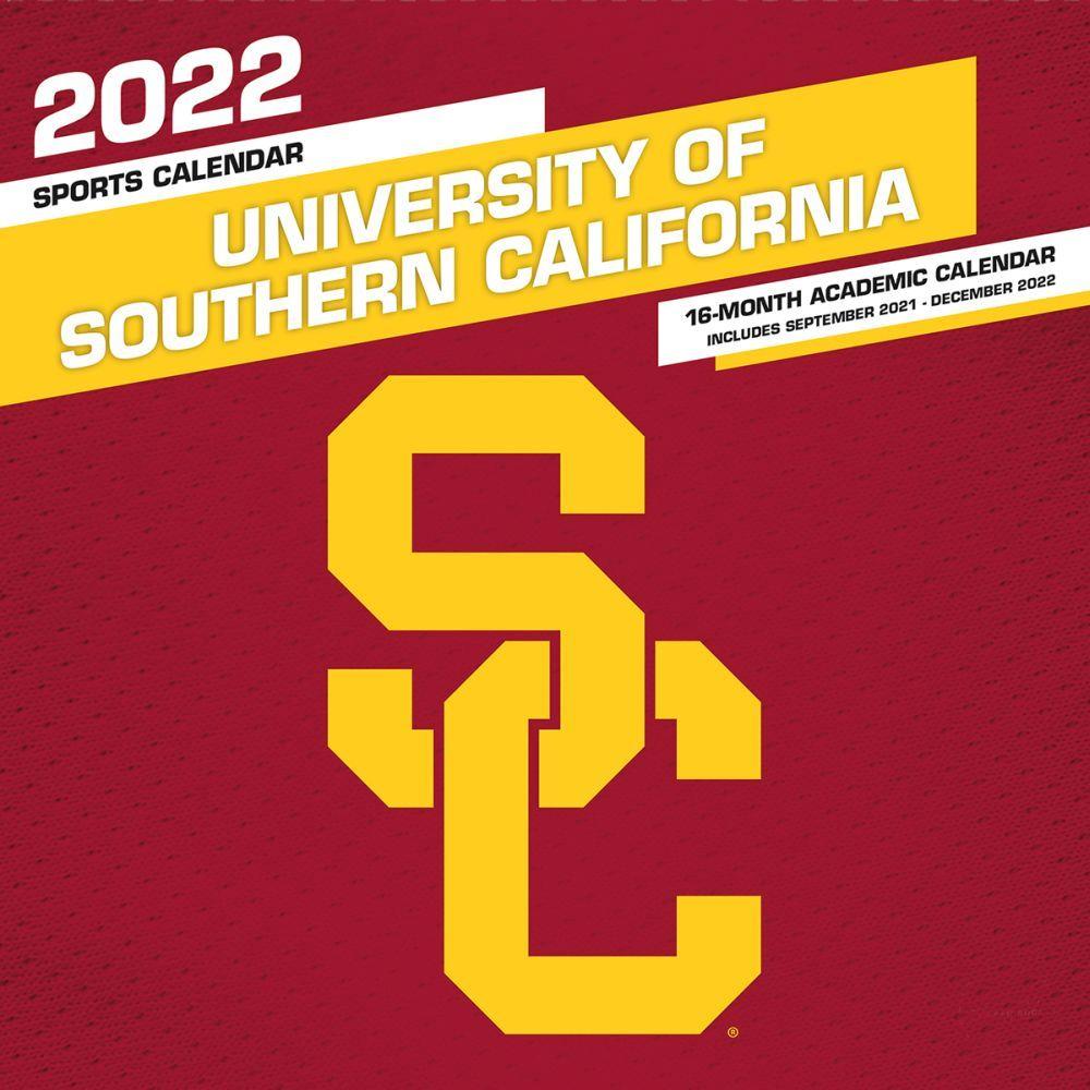 University of Southern California 2022 Wall Calendar