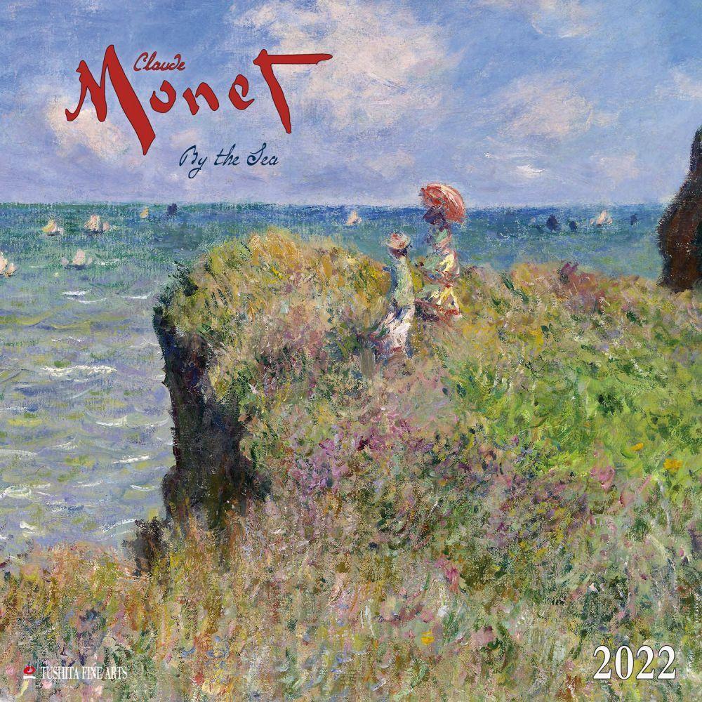 Claude Monet By the Sea 2022 Wall Calendar