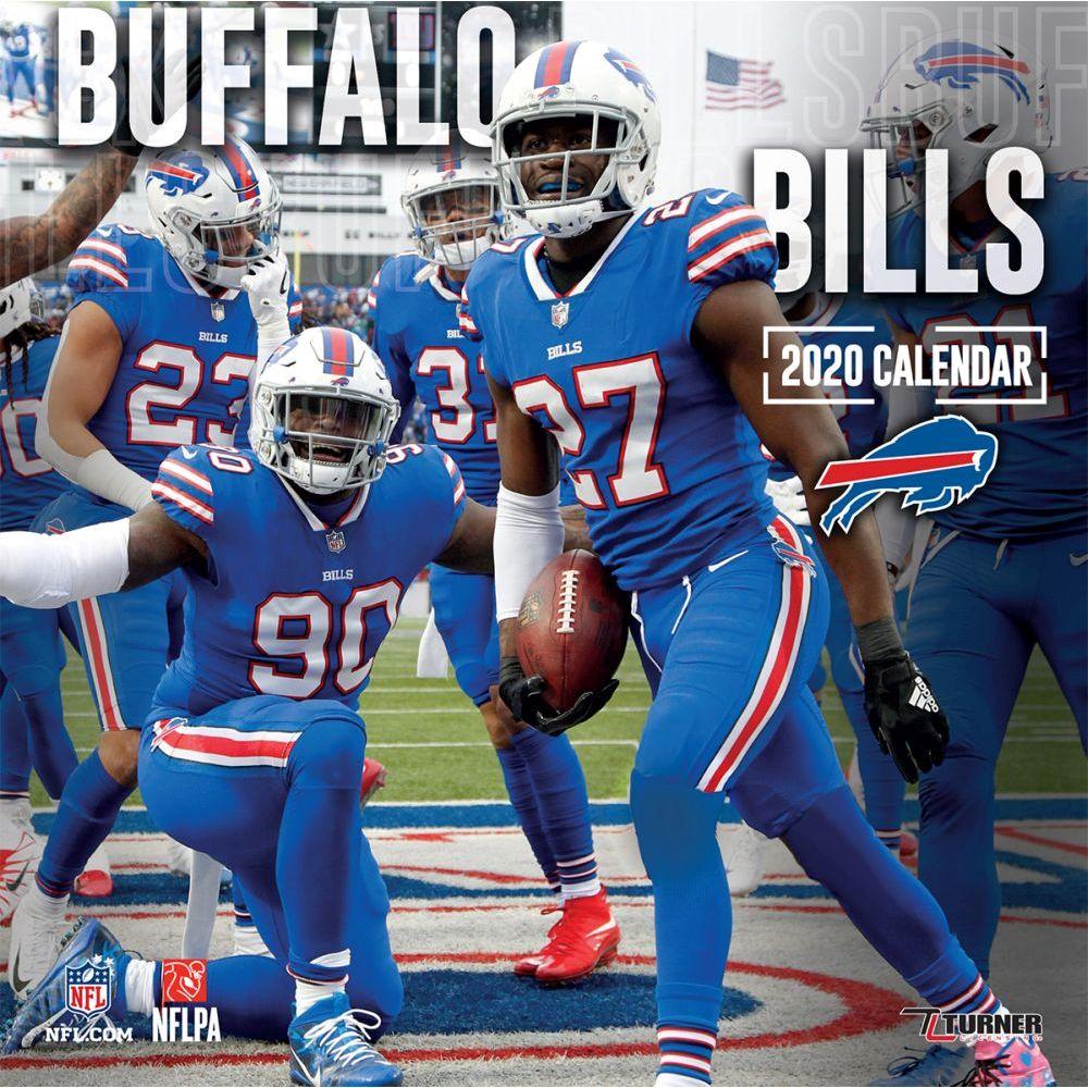 Buffalo Bills 2021 Wall Calendar
