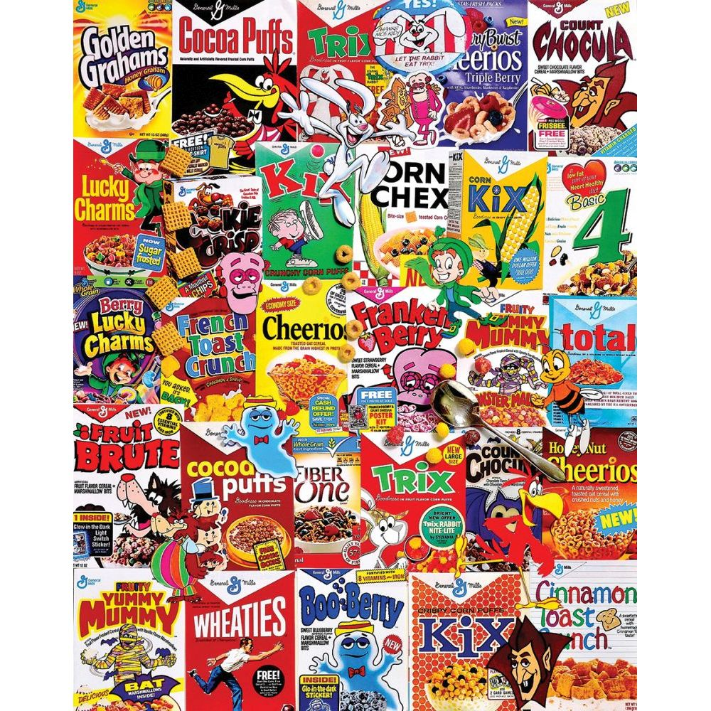 Best New Cereal Boxes 1000 You Can Buy