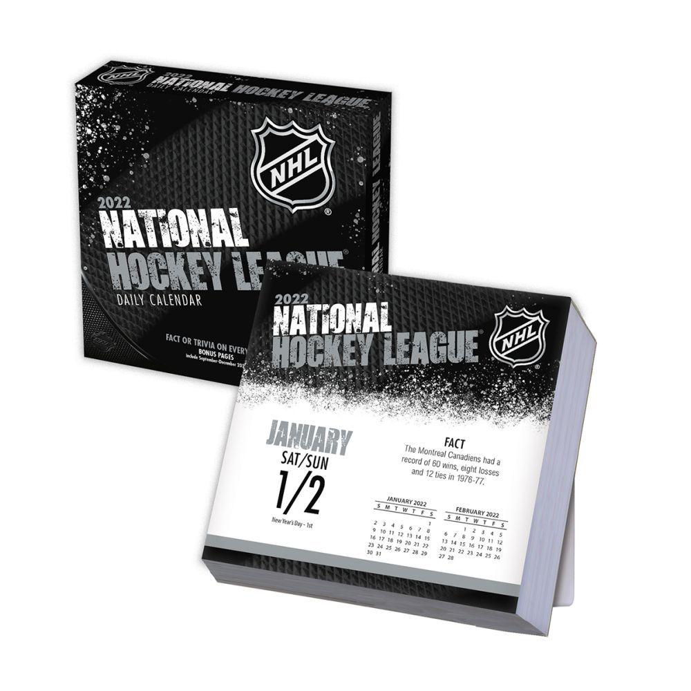 NHL All Team 2022 Desk Calendar
