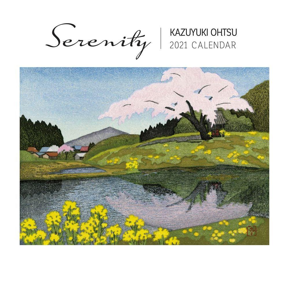 2021 Ohtsu Serenity Wall Calendar