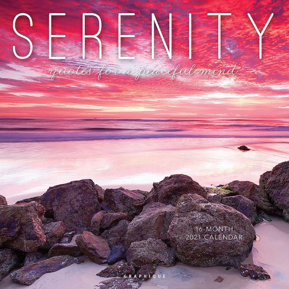 2021 Serenity Wall Calendar