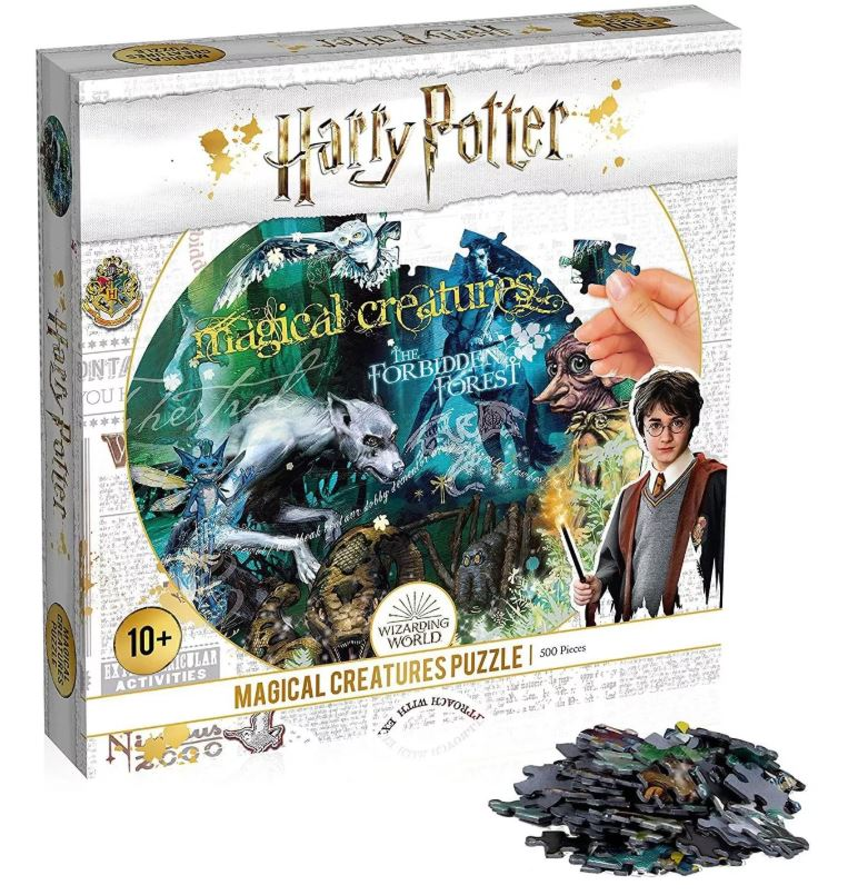 Best Harry Potter Magical Creatures 500pc Puzzle You Can Buy
