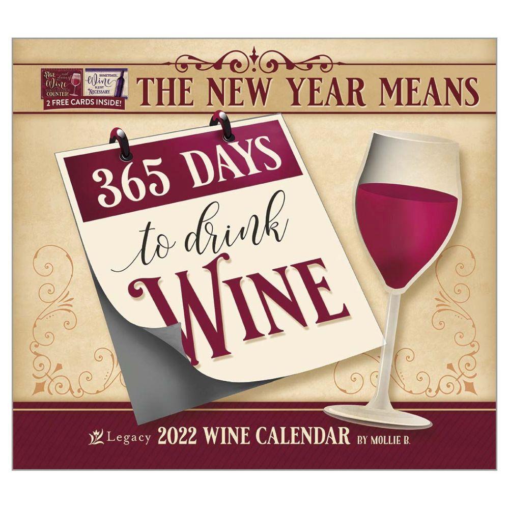 Wine Art 2022 Wall Calendar