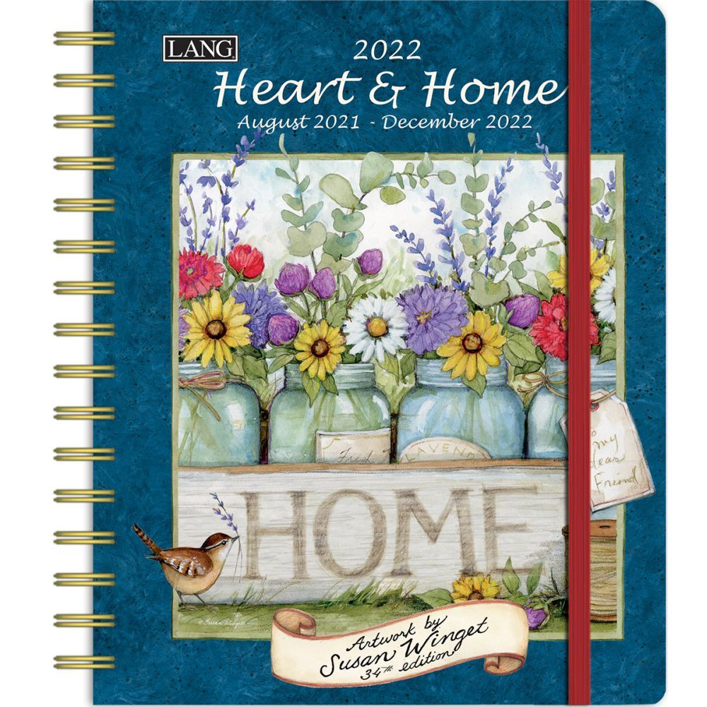 Heart and Home Softcover 2022 Weekly Planner