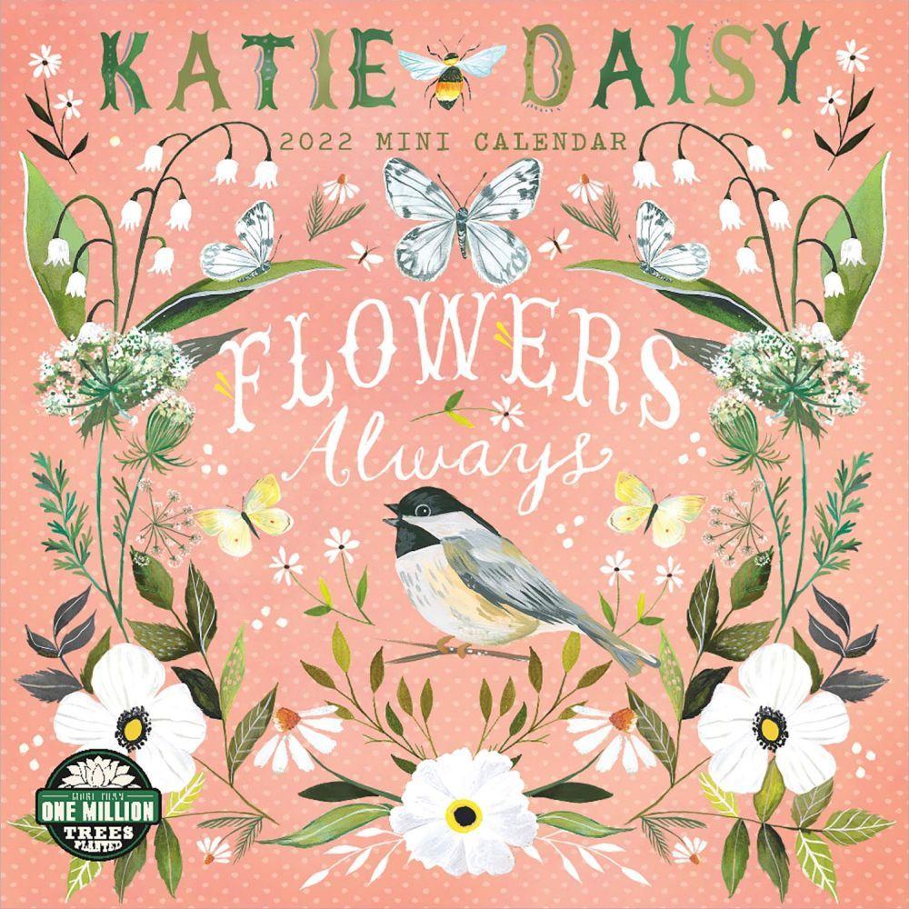 Katie Daisy 2022 Mini Wall Calendar