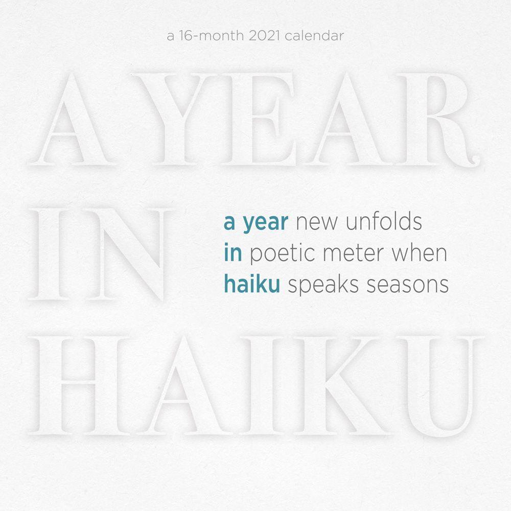 2021 Haiku Year Wall Calendar